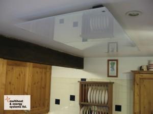 800w white glass in farmhouse kitchen
