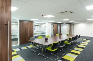 New sektor showroom demonstrates solutions for the for Training room design ideas