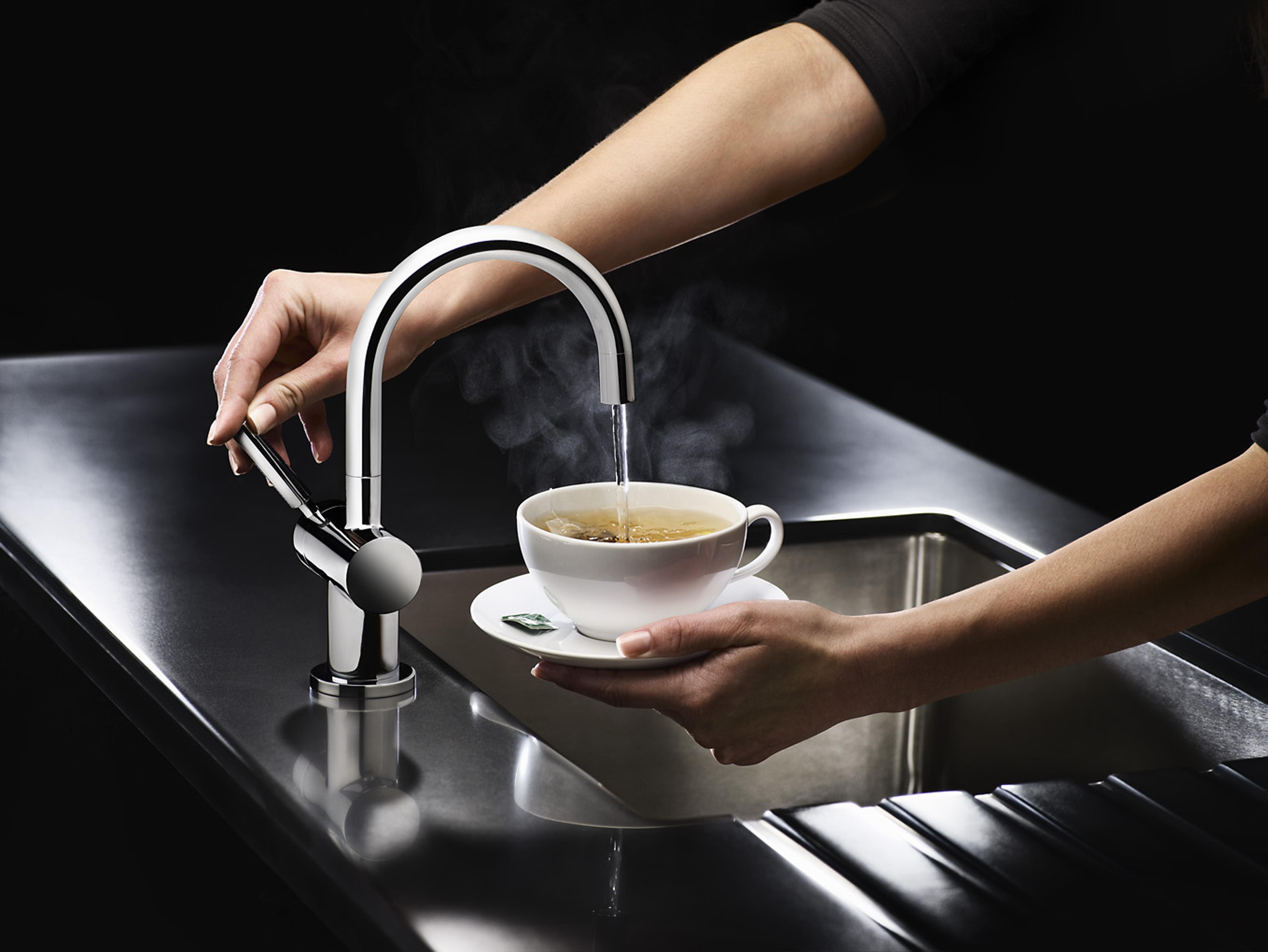 instant hot water kitchen sink
