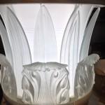 Cast glass capitals