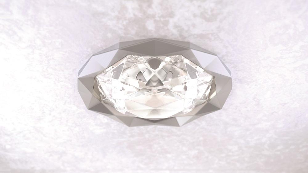 Lightway Black Star Crystal Glass diffuser