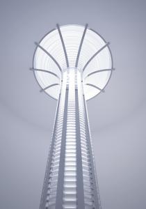 Lightway Empire Crystal Glass column