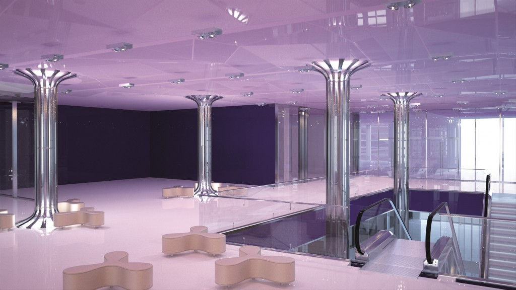 Lightway Piccadilly Crystal Glass columns