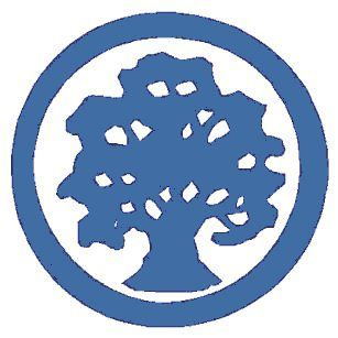 Treelogo smoky blue