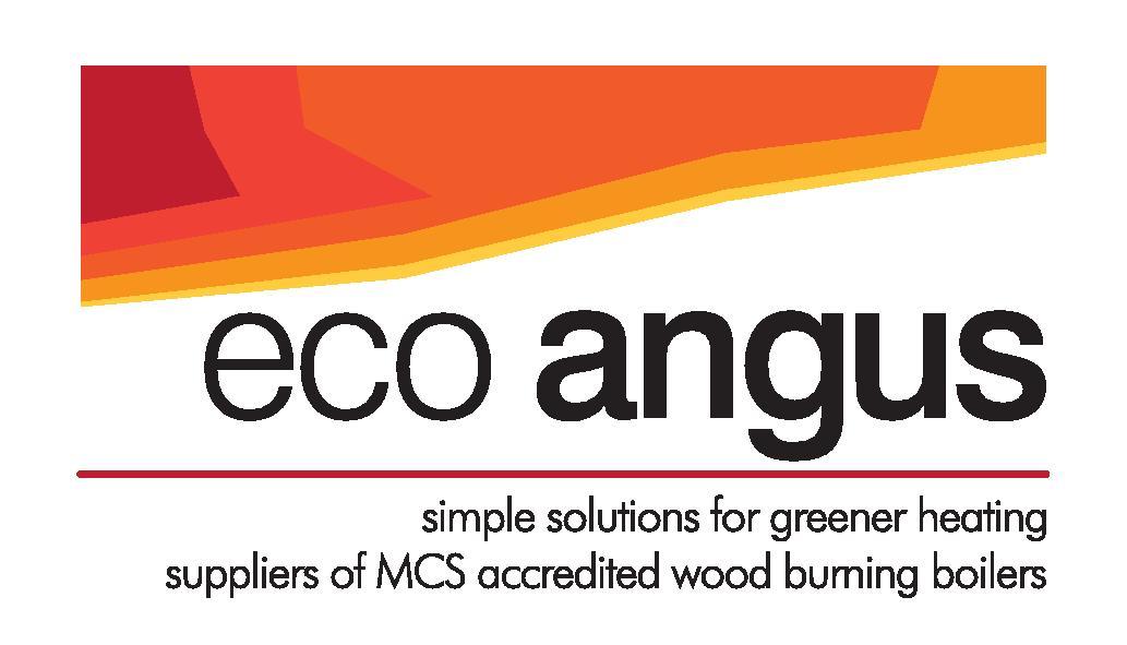 Eco Angus company logo black writing