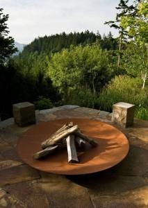 Copy of Corten steel fire bowl (3)