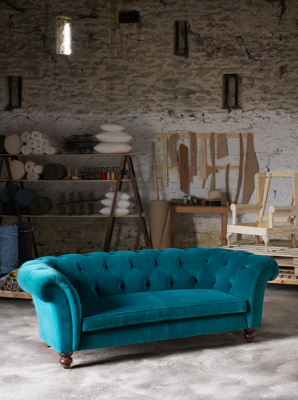 Wesley Barrell Handcrafting British Sofas For Over 120 Years