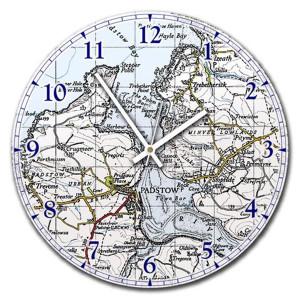 Clock-Vintage-Map-1940s
