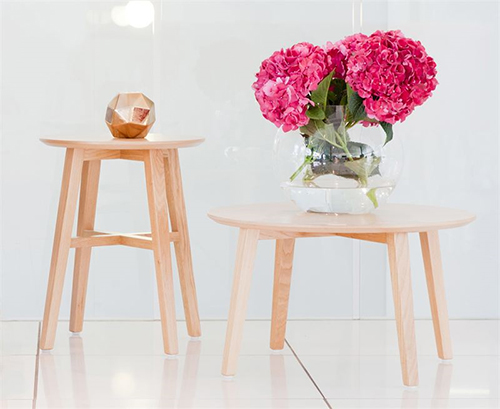 Pictured here; 'Pause and Wait' - an exciting coffee table duo that is one of the flagship ranges unveiled in Lyndon Design's inspiring new 'Tables Edit'. Whilst Pause is the taller of the two tables at 500cm high and offers the perfect side table, Wait sits at just 350cm high and presents an equally refined and poised arrangement.