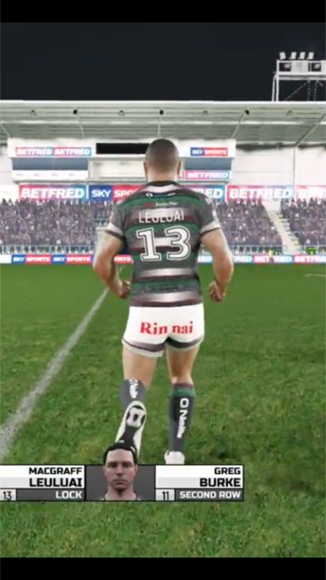 Rinnai Rugby League Sponsorship Now Has Its Own Video Game The Art Of Design Magazine