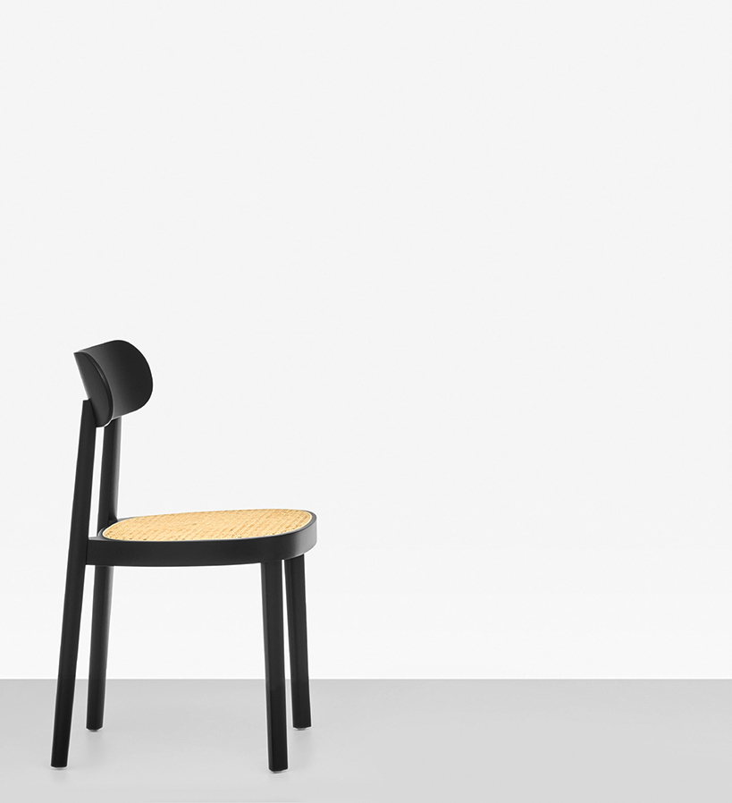 the 118 a perfectly pared down chair that references thonet s